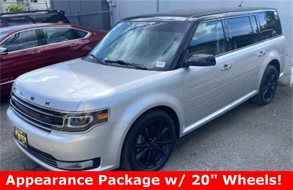 Pre-Owned 2017 Ford Flex Limited AWD with Appearance Pkg, Dual Sunroofs, Navigation