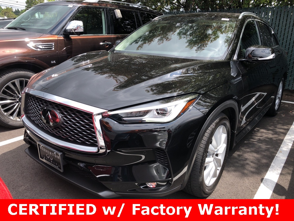 Certified Pre-Owned 2019 INFINITI QX50 ESSENTIAL AWD, ProAssist Pkg, ProActive Pkg, Sunroof