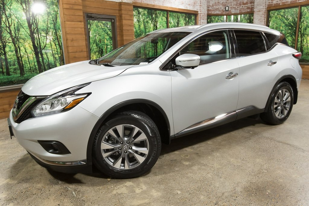 Pre-Owned 2015 Nissan Murano SL AWD, Tech Package, Navigation, Panoramic Sunroof