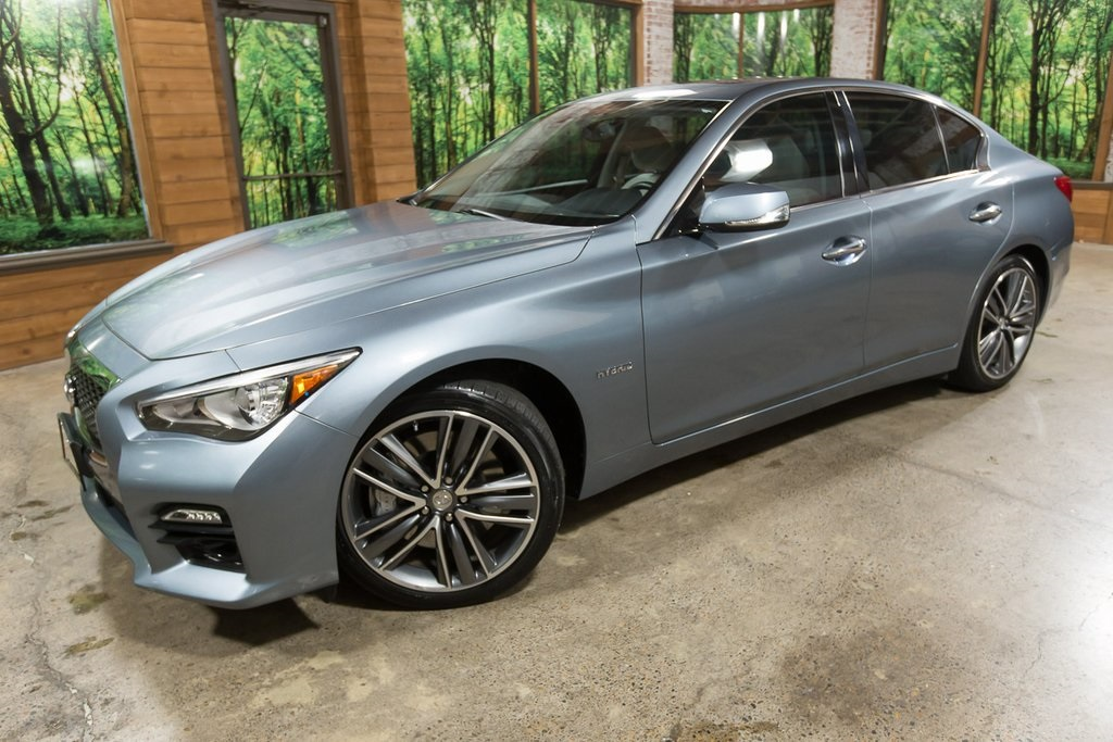 Certified Pre-Owned 2014 INFINITI Q50 Hybrid Sport