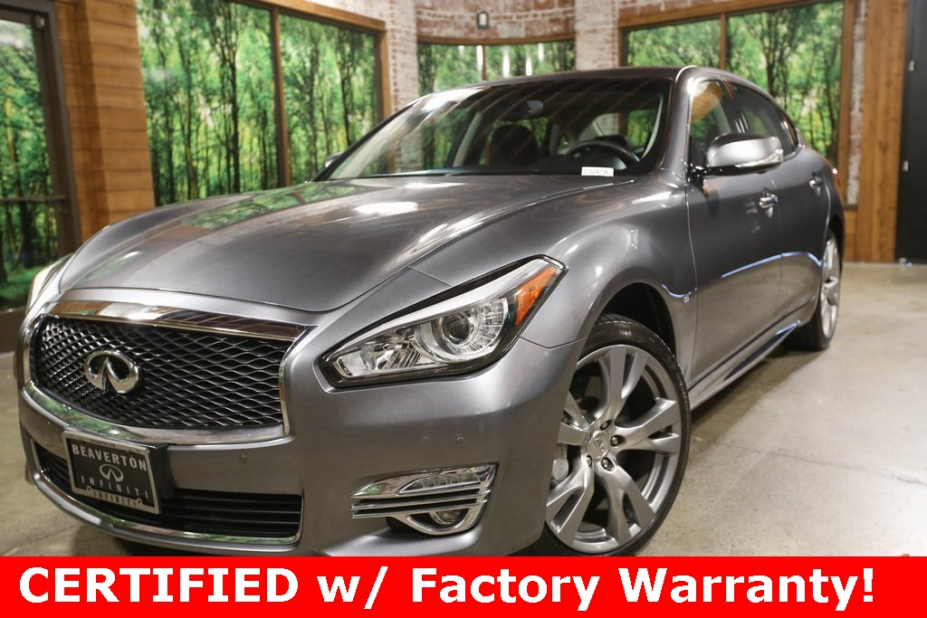 Certified Pre-Owned 2016 INFINITI Q70L 3.7X AWD, Touring Pkg, Performance Wheel Tire Pkg