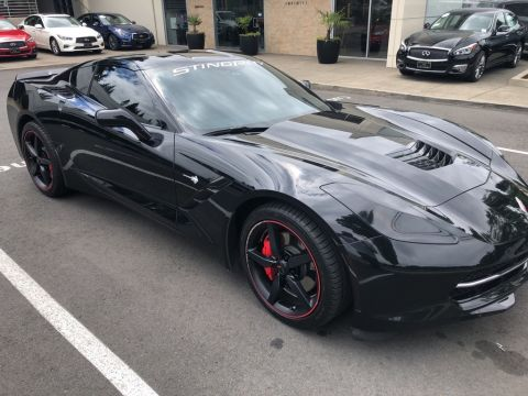 Pre-Owned 2015 Chevrolet Corvette Stingray 1LT, Automatic, Leather, Heads-Up Display