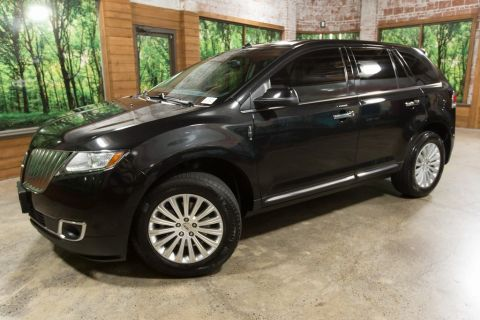 Pre-Owned 2015 Lincoln MKX AWD, Leather Heated and Cooled Seats, Clean Carfax