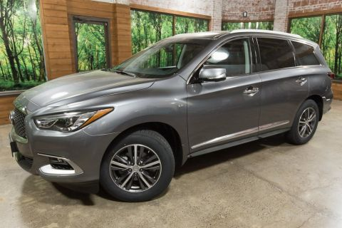 Certified Pre-Owned 2016 INFINITI QX60 AWD, Premium Plus Pkg, Sunroof, CERTIFIED