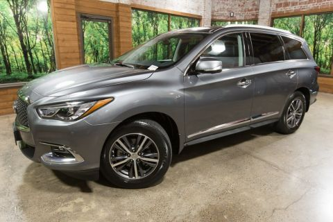 Certified Pre-Owned 2018 INFINITI QX60 Base AWD, Premium Plus Pkg, Premium Pkg