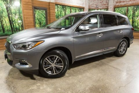 Certified Pre-Owned 2018 INFINITI QX60 Base AWD, Premium Pkg, Premium Plus Pkg