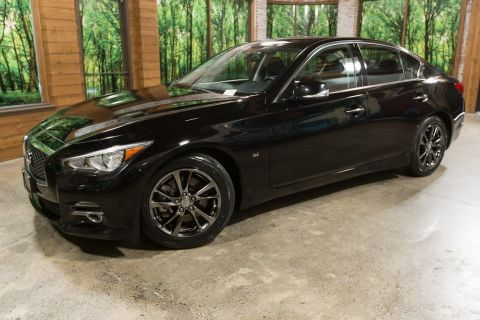 Certified Pre-Owned 2015 INFINITI Q50 Premium Navigation, Wheel and Tire Pkg, Leather