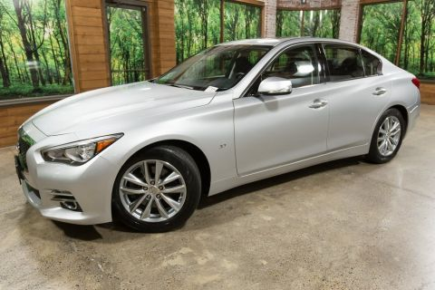Certified Pre-Owned 2015 INFINITI Q50 Premium Navigation Package, Cargo Package, CERTIFIED
