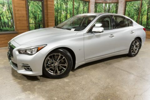 Certified Pre-Owned 2015 INFINITI Q50 Premium Tech Pkg, Navigation Pkg, Wheel/Tire Pkg
