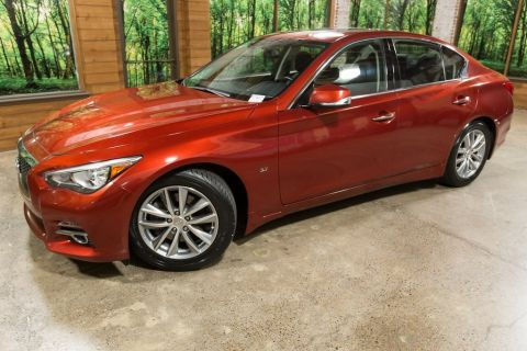Certified Pre-Owned 2015 INFINITI Q50 Premium Certified 1-Owner with Navigation, Heated Seats
