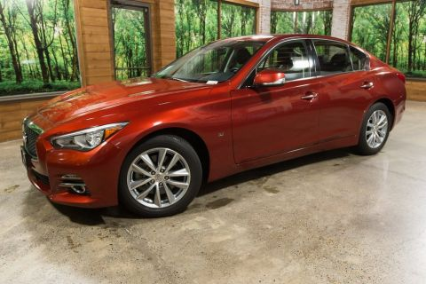 Certified Pre-Owned 2015 INFINITI Q50 Base Moonroof, Certified, AWD, No Accidents