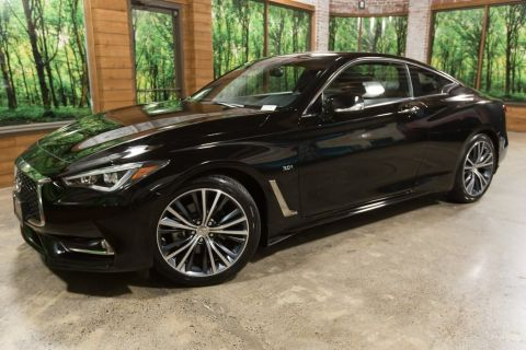 Certified Pre-Owned 2018 INFINITI Q60 3.0t LUXE AWD, 1-Owner, Sensory Package, Cargo Package
