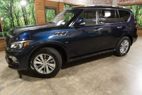 Certified Pre-Owned 2017 INFINITI QX80 Base AWD, 1-Owner, Certified, Drivers Assist Package