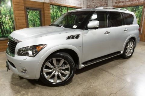 Pre-Owned 2014 INFINITI QX80 4WD, Technology Pkg, Theatre Pkg, Touring Pkg