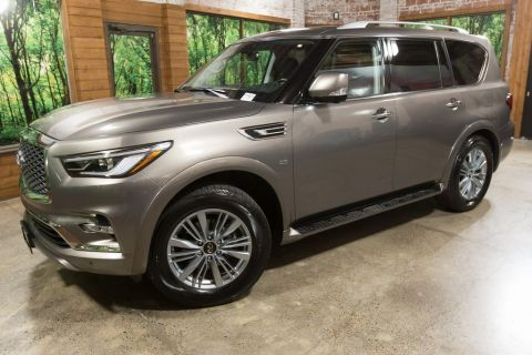 Certified Pre-Owned 2019 INFINITI QX80 LUXE AWD, Navigation, Sunroof, Heated Seats