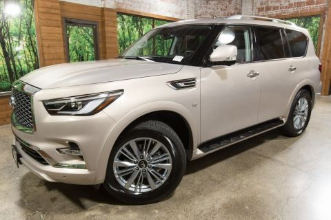Certified Pre-Owned 2019 INFINITI QX80 LUXE CERTIFIED, Signature Edition, One-Owner