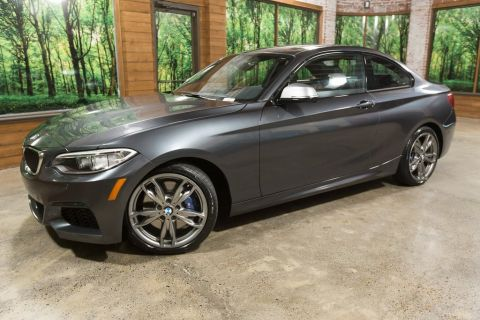 Pre-Owned 2017 BMW 2 Series M240i AWD, M Suspension, Driving Assist Pkg, Sunroof