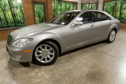 Pre-Owned 2007 Mercedes-Benz S-Class S 550 Navigation, Sunroof, Well Maintained